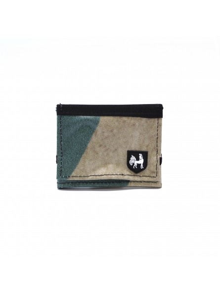 VAHO Recycled Wallet Lompakko Green-Beige