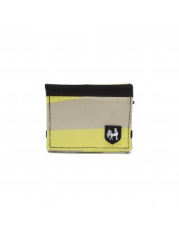 VAHO Recycled Wallet Lompakko Yellow-Beige