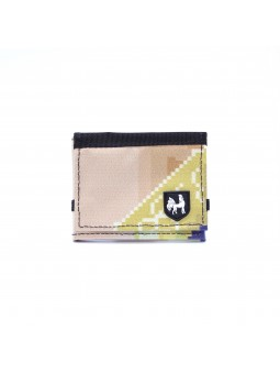 VAHO Recycled Wallet Lompakko Orange-Yellow