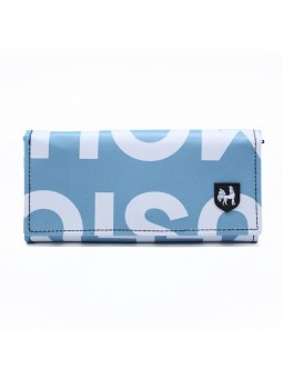 VAHO Recycled Wallet Miel Turquoise