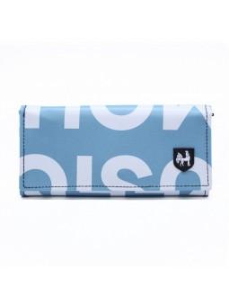 VAHO Recycled Wallet Miel Turquesa