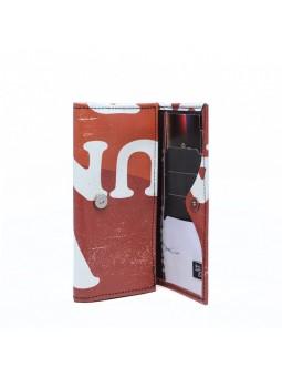 VAHO Recycled Wallet Miel Naranja Oscuro