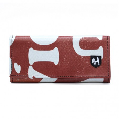 VAHO Recycled Wallet Miel Dark Orange