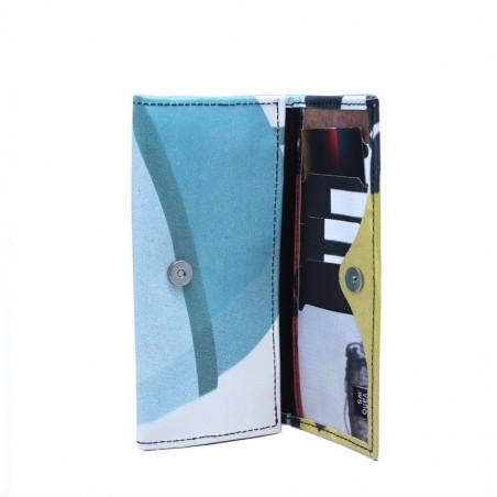 VAHO Recycled Wallet Miel Yellow