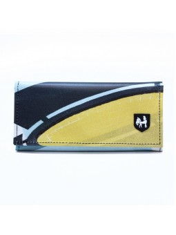 VAHO Recycled Wallet Miel Yellow