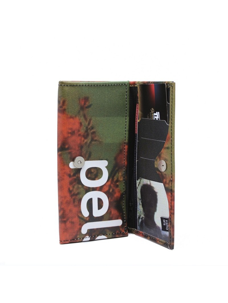 VAHO Recycled Wallet Miel Red-Green