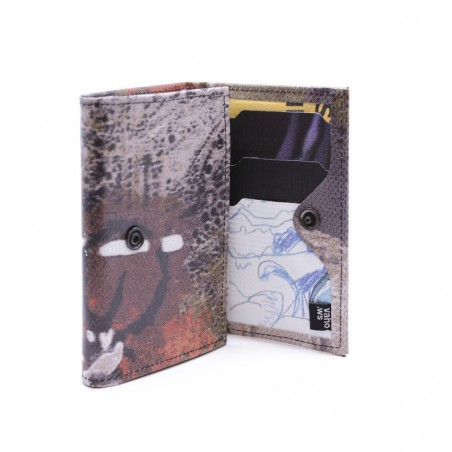 VAHO Recycled Wallet Pepper Brown