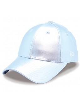 METALLIC WOMEN 9FORTY New Era Silver Cap