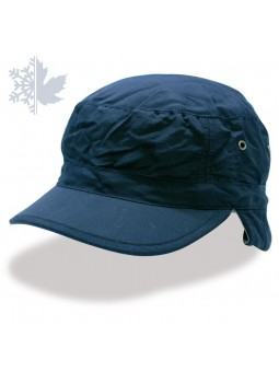 URBAN TECHNO FLAP Atlantis Navy Cap