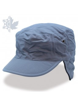 URBAN TECHNO FLAP Atlantis Grey Cap
