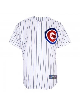 Camiseta Beisbol Chicago CUBS MLB Majestic Blanco