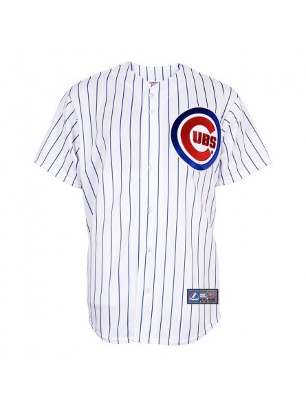 Chicago CUBS MLB Majestic White Home Jersey