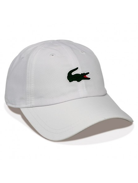 Lacoste Rk2464 White Novak Djokovic Tennis Cap For World Sport