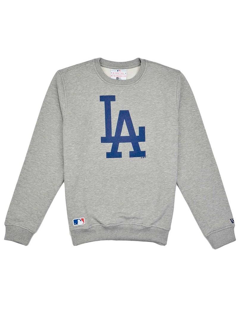 Los Angeles Dodgers Nos Crew New Era grey Sweatshirt
