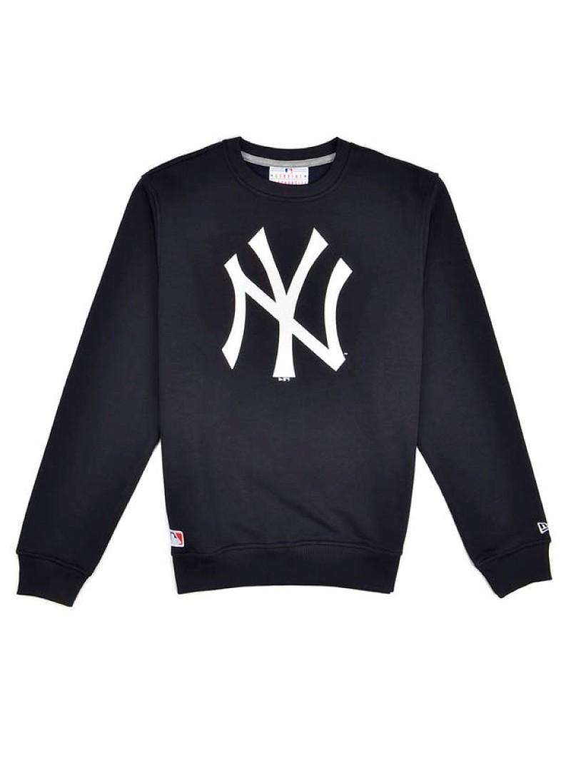 New York YANKEES MLB Crew New Era black sweatshirt