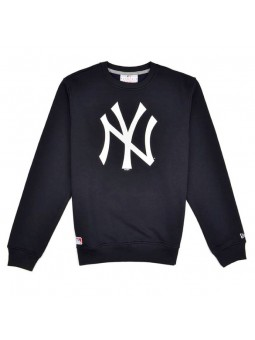 New York YANKEES MLB Crew New Era black sweatshirt