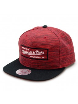 Intl 006 Mitchell & Ness Red/Black Cap