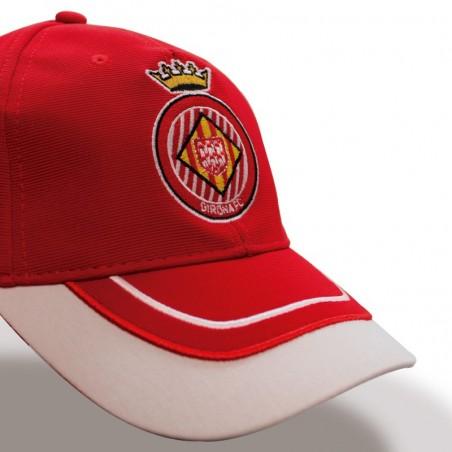 Gorra GIRONA FC rojo