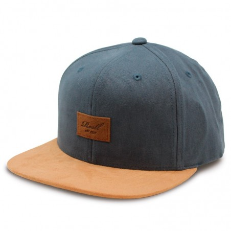 Reell Suede Charcoal Cap