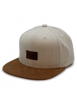 Reell Suede brute white Cap