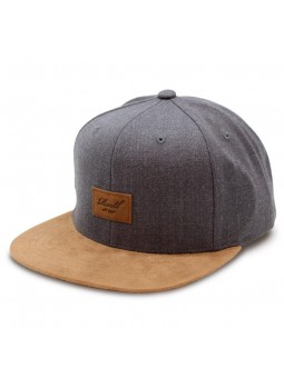 Gorra Reell Suede Charcoal gris oscuro