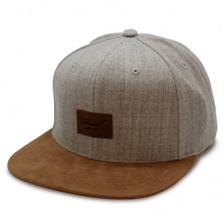Gorra Reell Suede heather grey