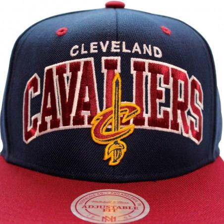 Mitchell & Ness Cleveland Cavaliers Team Arch Boscel Cap