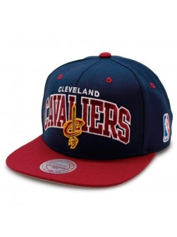 Mitchell & Ness Cleveland Cavaliers Team Arch Boscel Cap