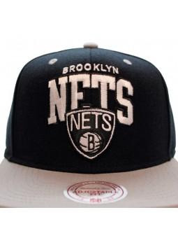 Mitchell & Ness Brooklin Nets Team Arch Boscel Cap