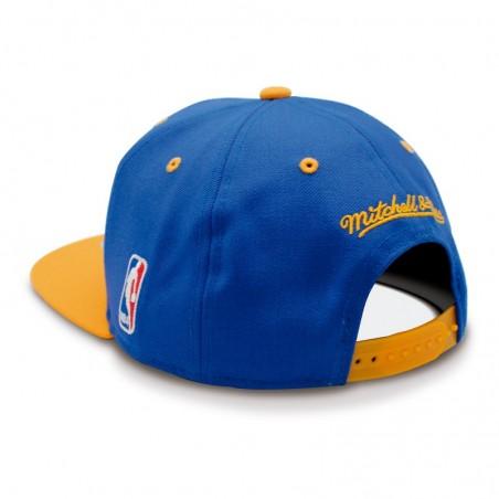Mitchell & Ness Golden State Warriors Team Arch Boscel Cap