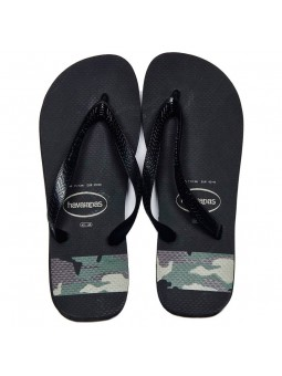 Chanclas HAVAIANAS Top Stripes Negro/Verde