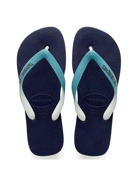 c26dbabccb6be HAVAIANAS TOP MIX Navy Blue/Mineral Blue Flip Flops