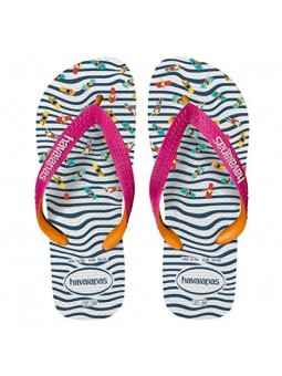 Chanclas de Mujer HAVAIANAS TOP FASHION Marino