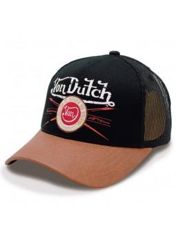 Gorra Von Dutch Pin negro marrón