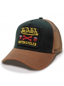 Von Dutch Square10 black brown Cap