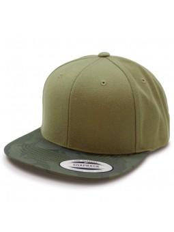 FLEXFIT 6089CV Snapback camouflaje olive Cap