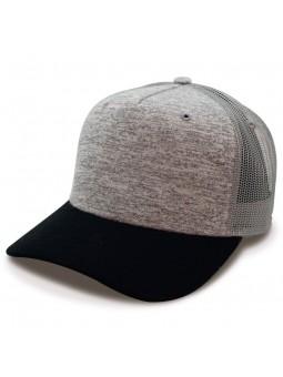 TOP HATS Rapper Cotton Trucker gray black Cap