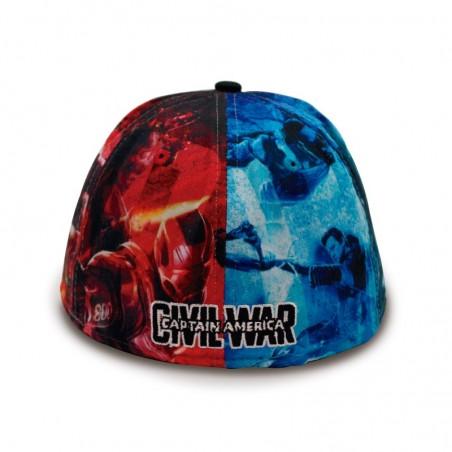 Allover Civil War Iron Man & Captain America 59FIFTY New Era Cap