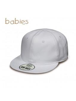 15daf68f41f5d Gorra de Bebé Top Hats Snapback blanco