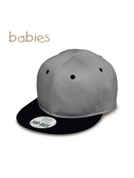 Cap for Baby Top Hats Snapback gray black 34a3f6c95c7
