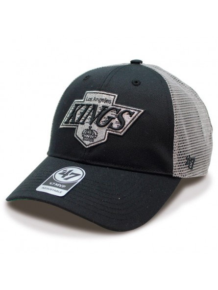 Gorra LOS ANGELES KINGS NHL trucker negro gris 47 Brand