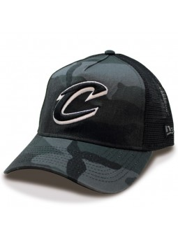 Cleveland CAVALIERS NBA Wash Camouflage New Era black Cap