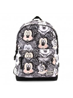 Backpack CLASSIC MICKEY HS OH BOY black