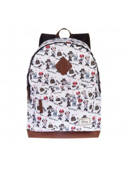 Backpack CLASSIC MINNIE FREETIME HS FASHION white