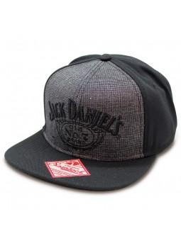Gorra JACK DANIEL'S Snapback gris negro