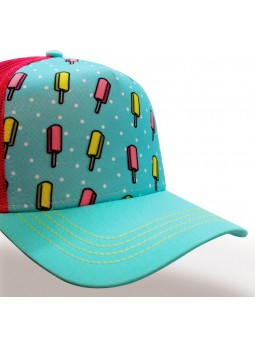 ICE CREAMS TOP HATS Rapper Cap