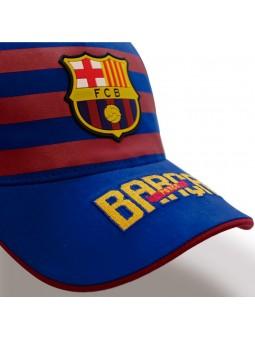 Gorra FCB Barça Stripes royal