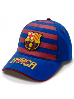 Gorra FCB Barça Stripes royal
