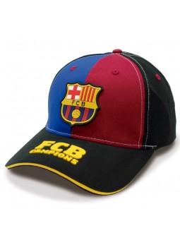 Gorra FCB Barça Campions negro