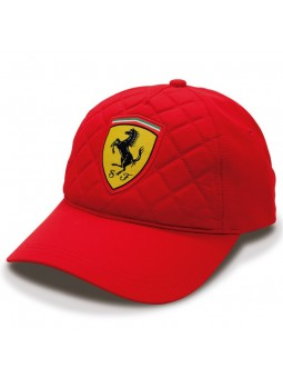 Ferrari Quilted SF Racing red cap